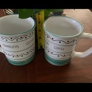 Set of Starbucks coffee mugs! Used mint condition.